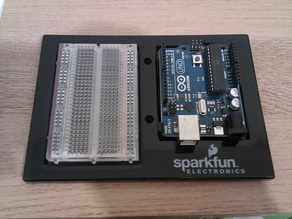 Arduino uno using the sparkfun inventor s kit uk