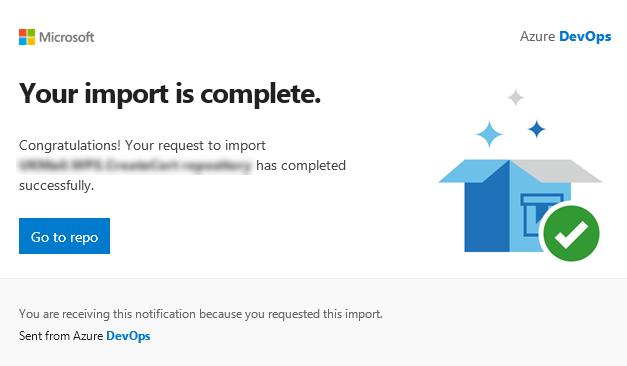 Azure DevOps – Move a Git repo between projects – Mark Cooper